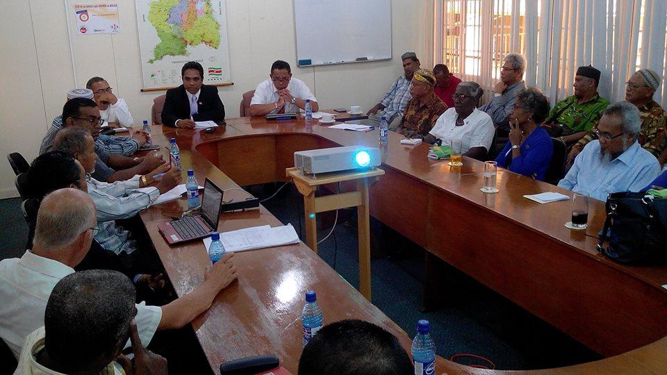 De ontmoeting moet leiden tot een versteviging van de samenwerking en de verstandhouding tussen de organisaties en het ministerie (Foto:Biza)