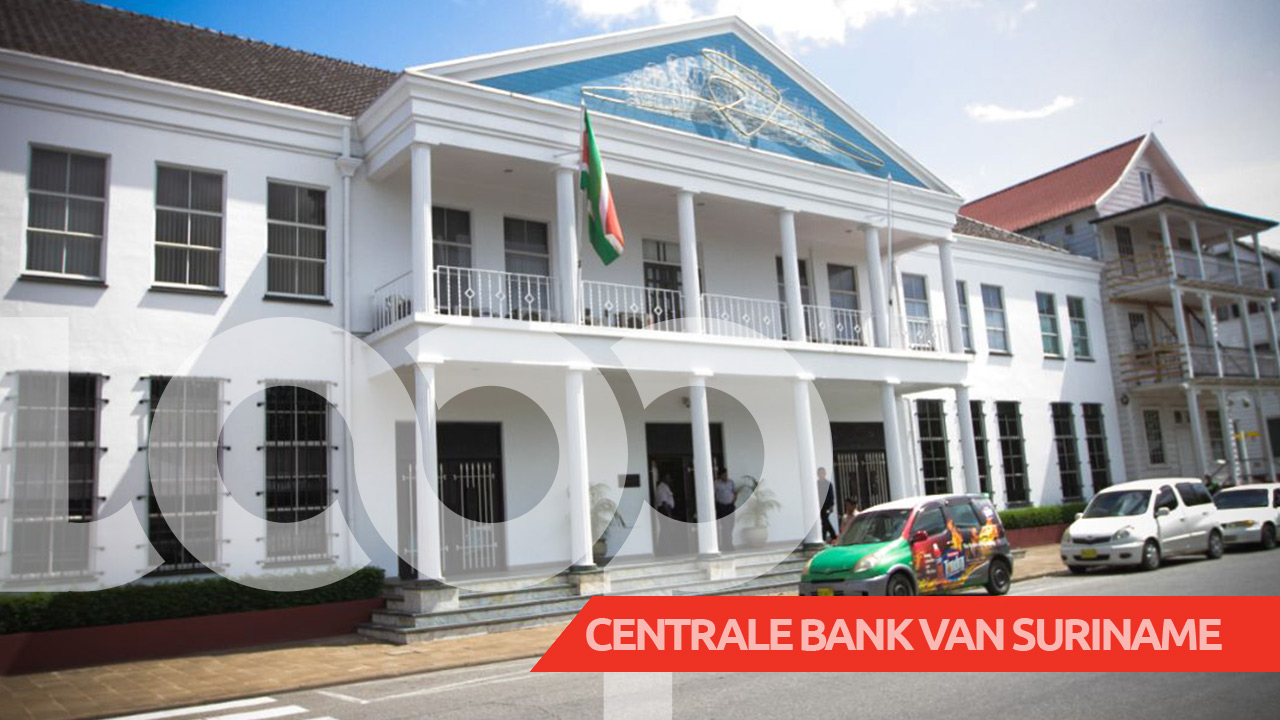 De Centrale Bank van Suriname (CBvS).