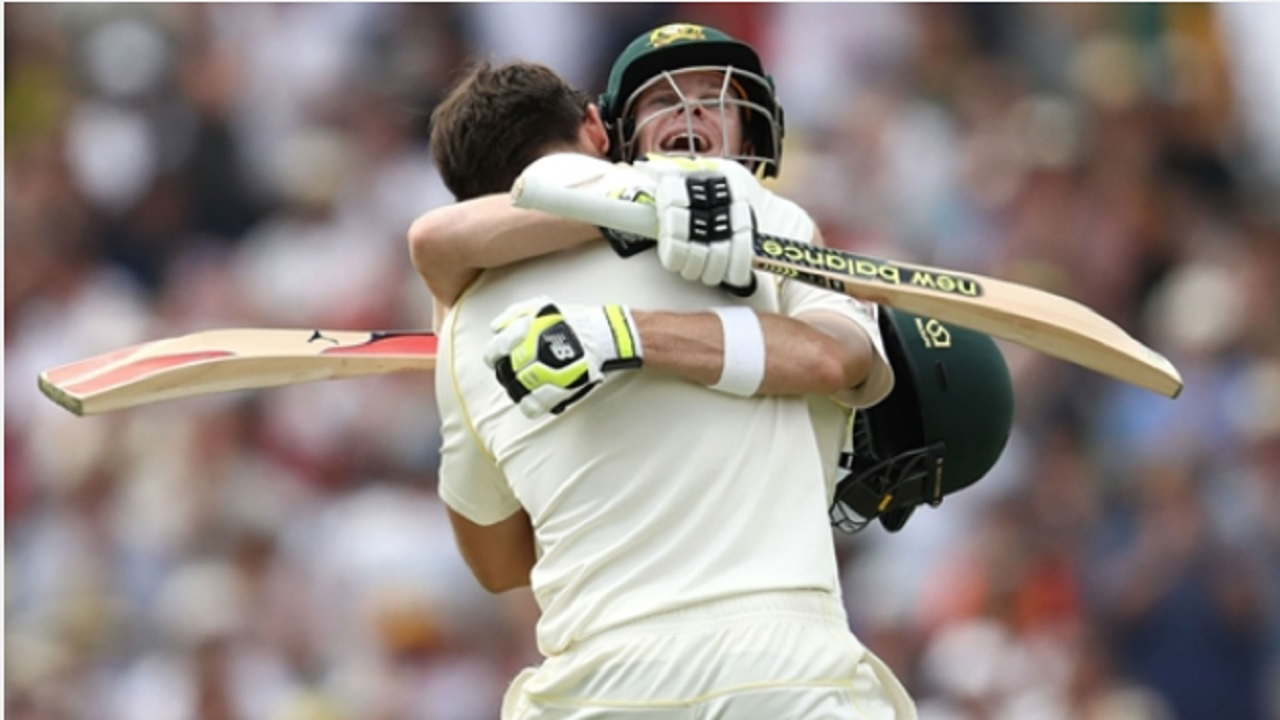 Steve Smith and Mitchell Marsh.