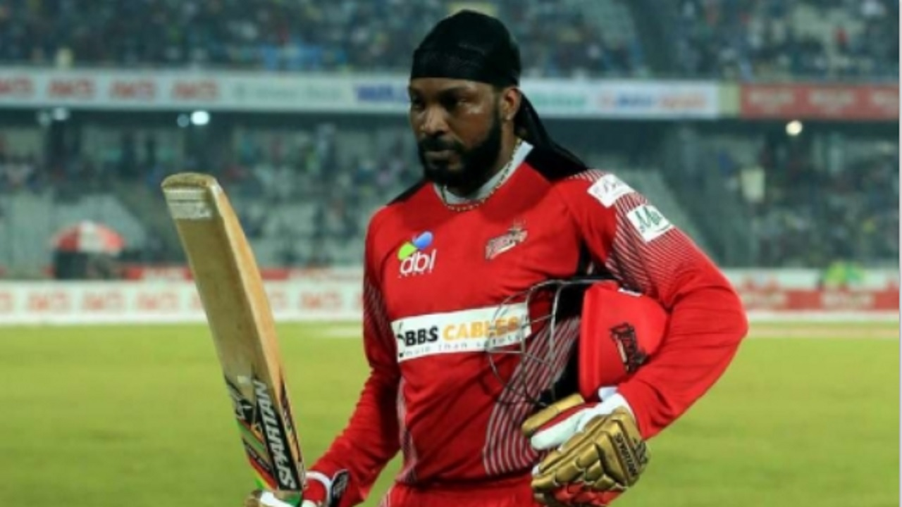Jamaica and West Indies T20 star Chris Gayle.
