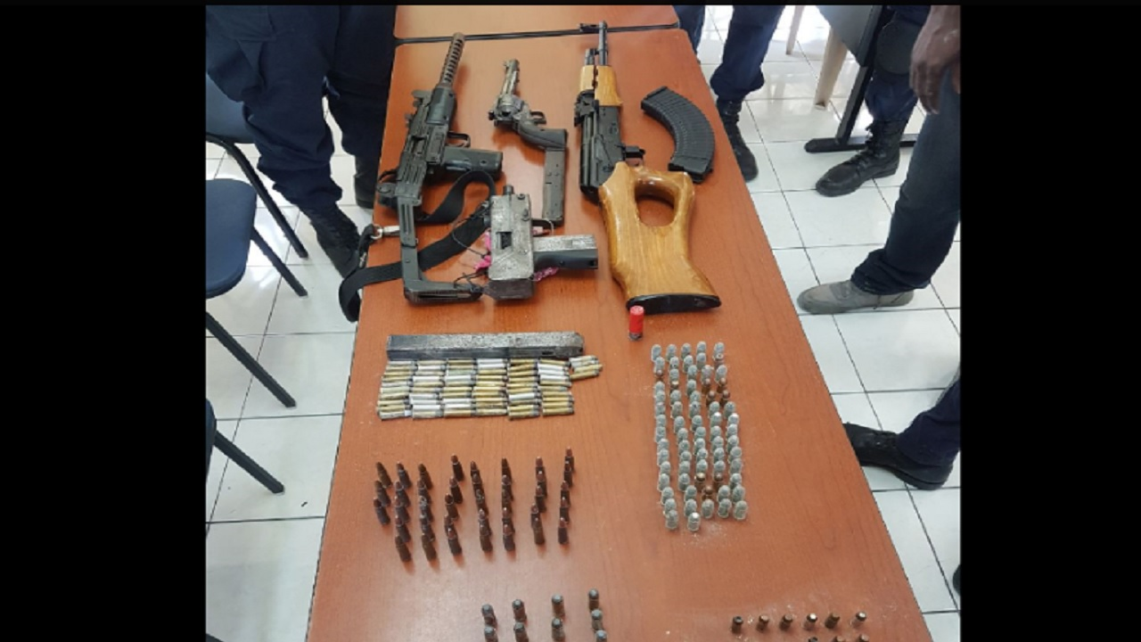 Five illegal guns, over 200 rounds of ammunition seized in St James