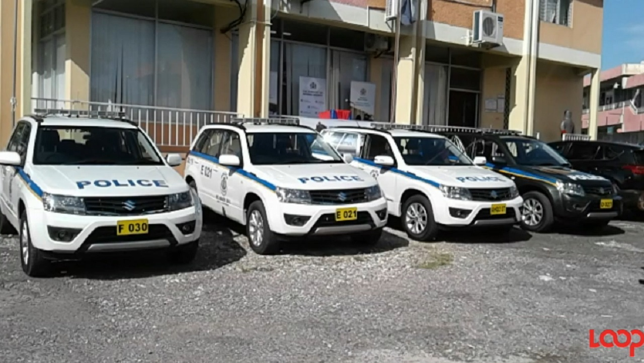 Loop file photo of new police vehicles that were recently handed over to the Area Two police.