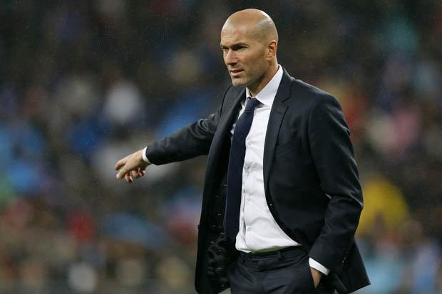 Zinedine Zidane, entraîneur du Real Madrid