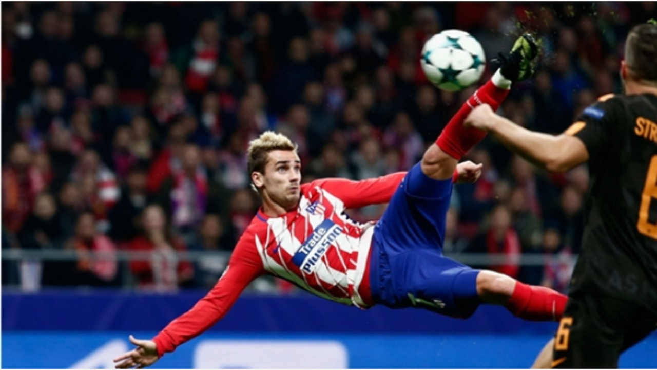 Atletico Madrid forward Antoine Griezmann.