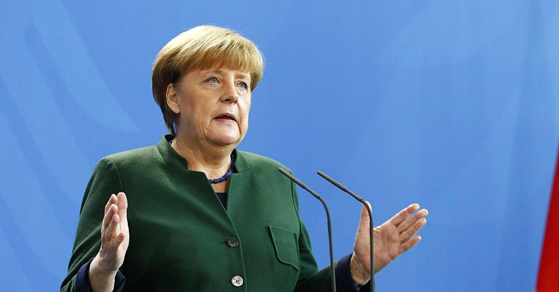 German leader, Angela Merkel.