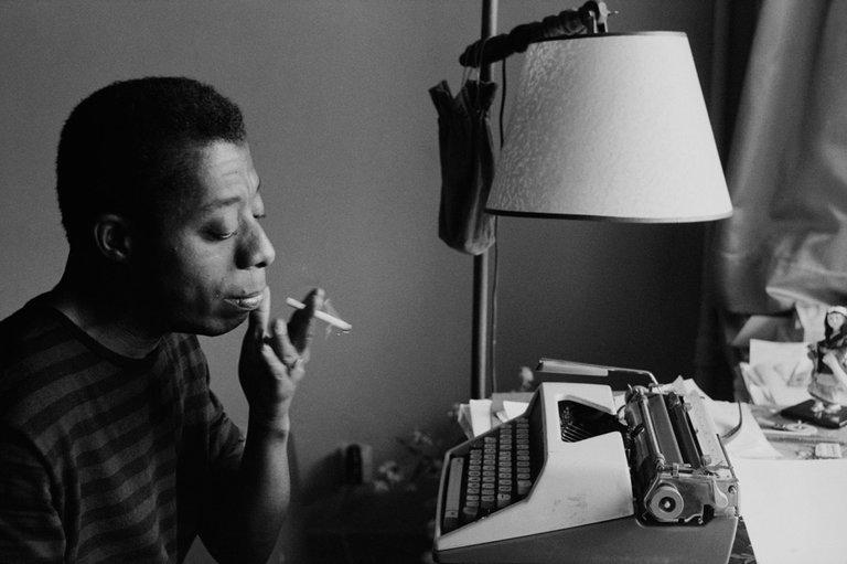 James Baldwin, écrivain noir américain./Photo: NYTimes