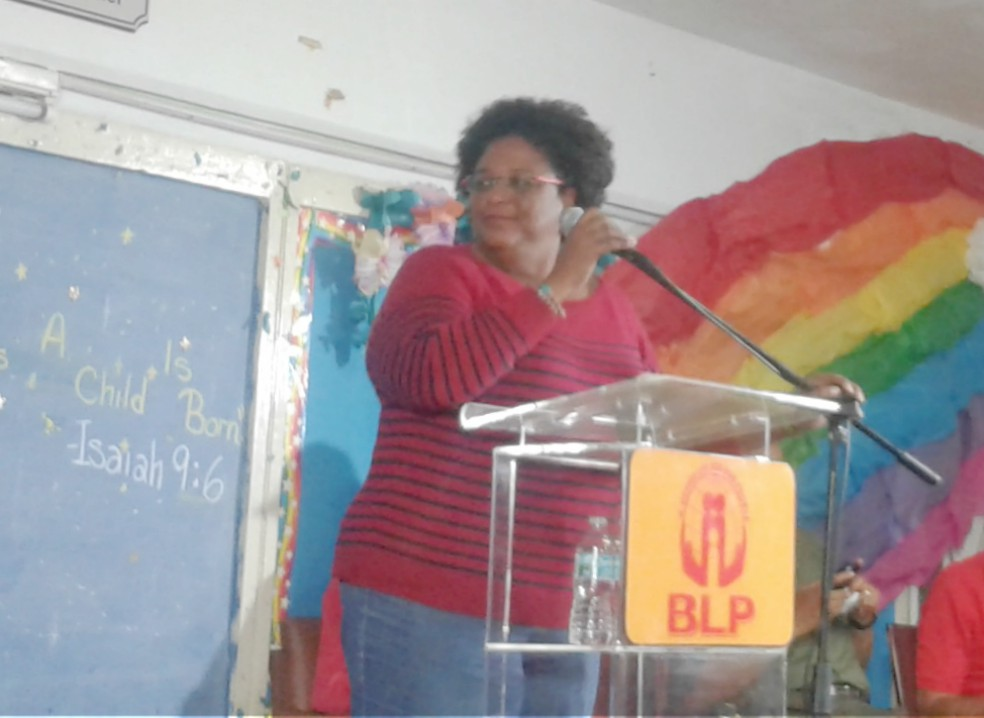 Opposition Leader, Mia Mottley