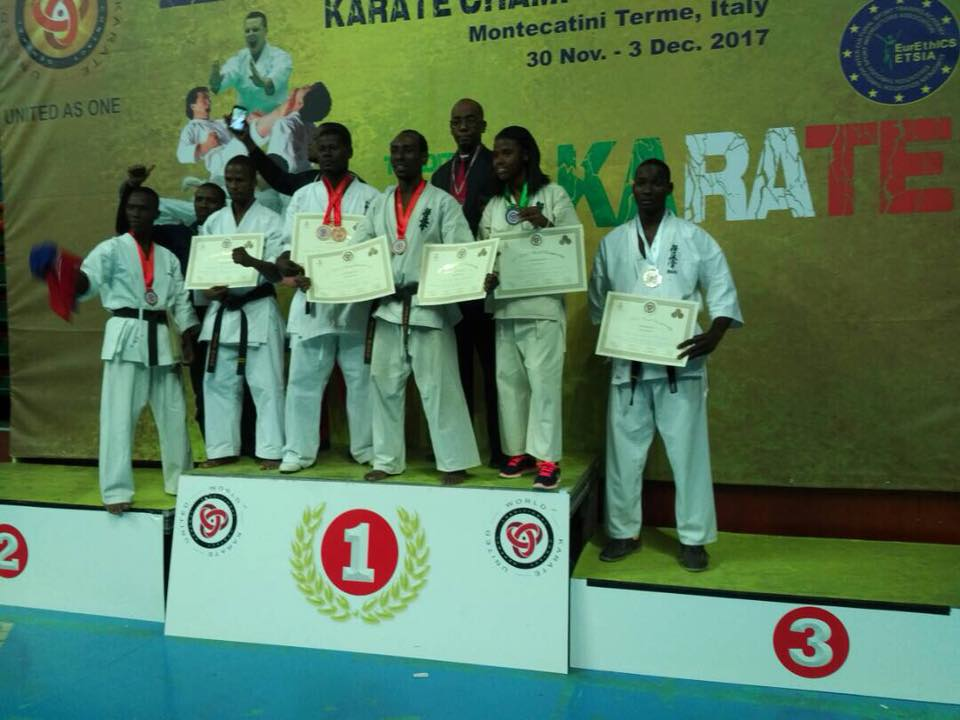 Des athlètes haïtiens médaillés dans un tournoi international de Kyokushinkai
