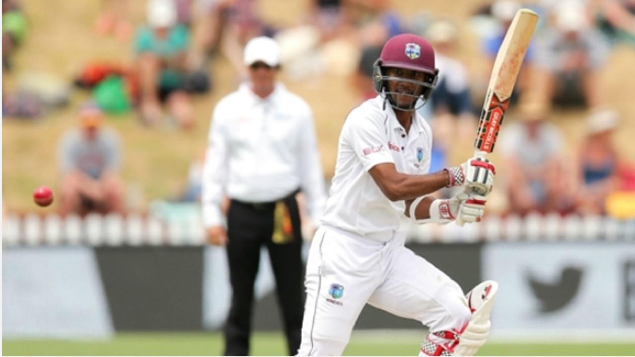 West Indies batsman Kraigg Brathwaite.
