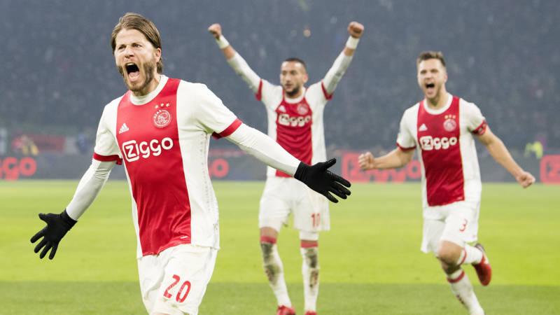Het was heel duidelijk dat Ajax voor de winst ging. Ajax had namelijk in de eerste 25 minuten van een duel met PSV maar liefst 83 procent balbezit.