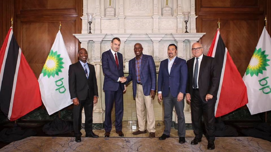 Prime Minister Dr Keith Rowley visited BP executives in Houston, Texas in March 2017. The talks centered around developing strategies for expanding the downstream industry, offshore development and BP's continued commitment to investing in Trinidad and Tobago.