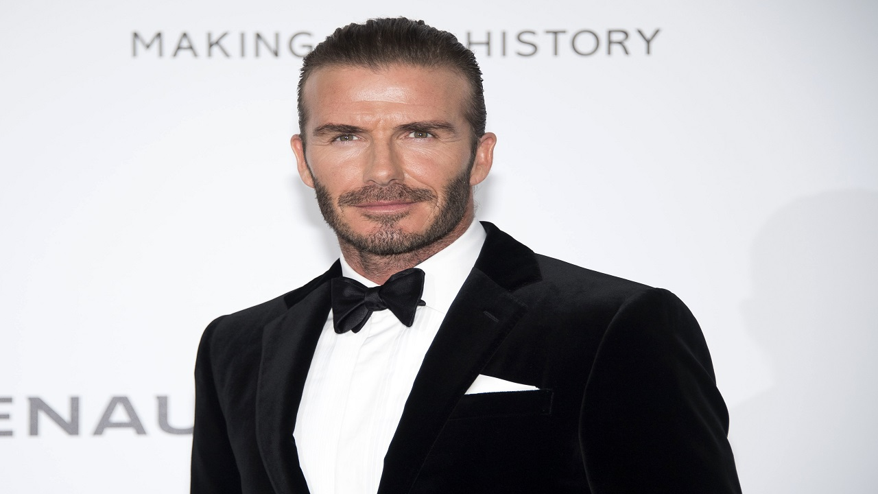 The soccer star married to fashion mogul Victoria Beckham will launch 21 men's grooming products under the name House 99 on Feb. 1 in the United Kingdom.