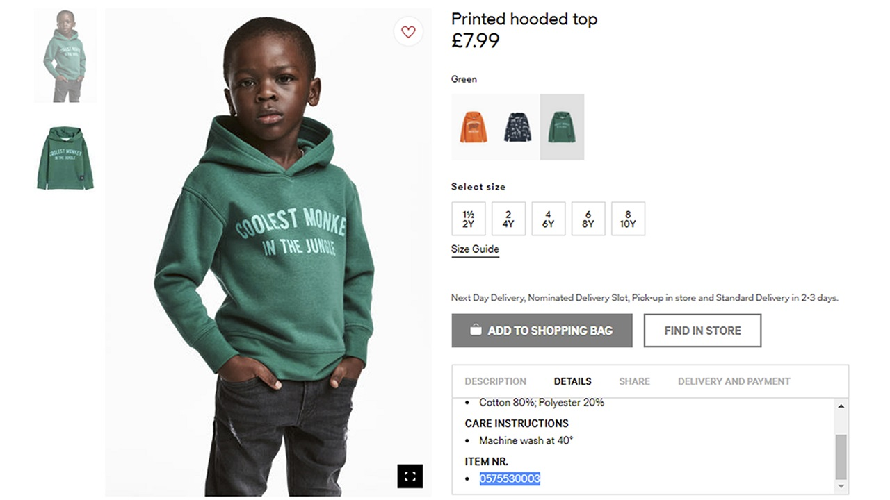 H&M Issues Apology After Running Ad Showing Black Model With 'Monkey' Hoodie