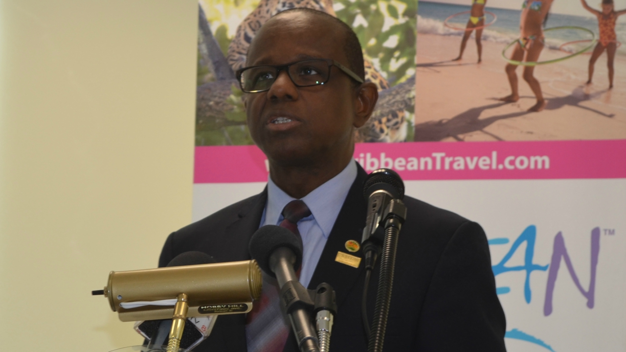 Secretary General of the Caribbean Tourism Organization (CTO), Hugh Riley.