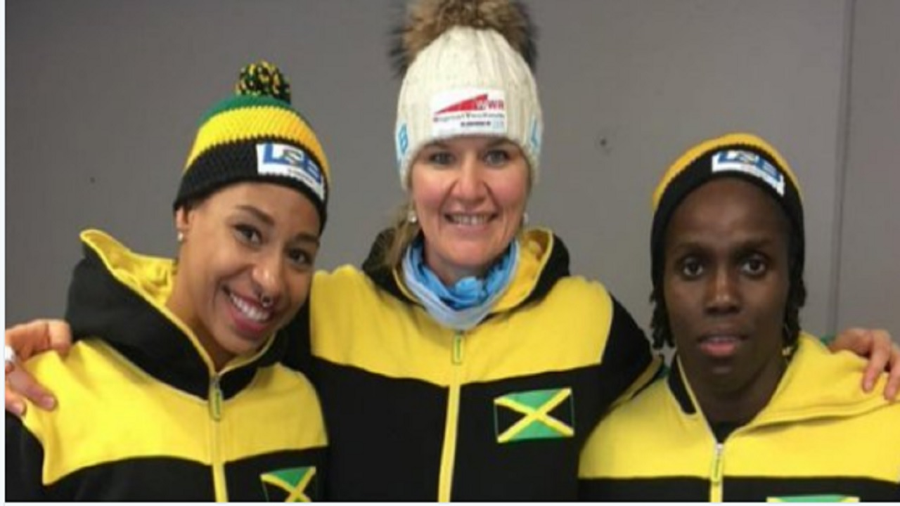 Jamaica sending its 1st women's bobsleigh team to Olympics