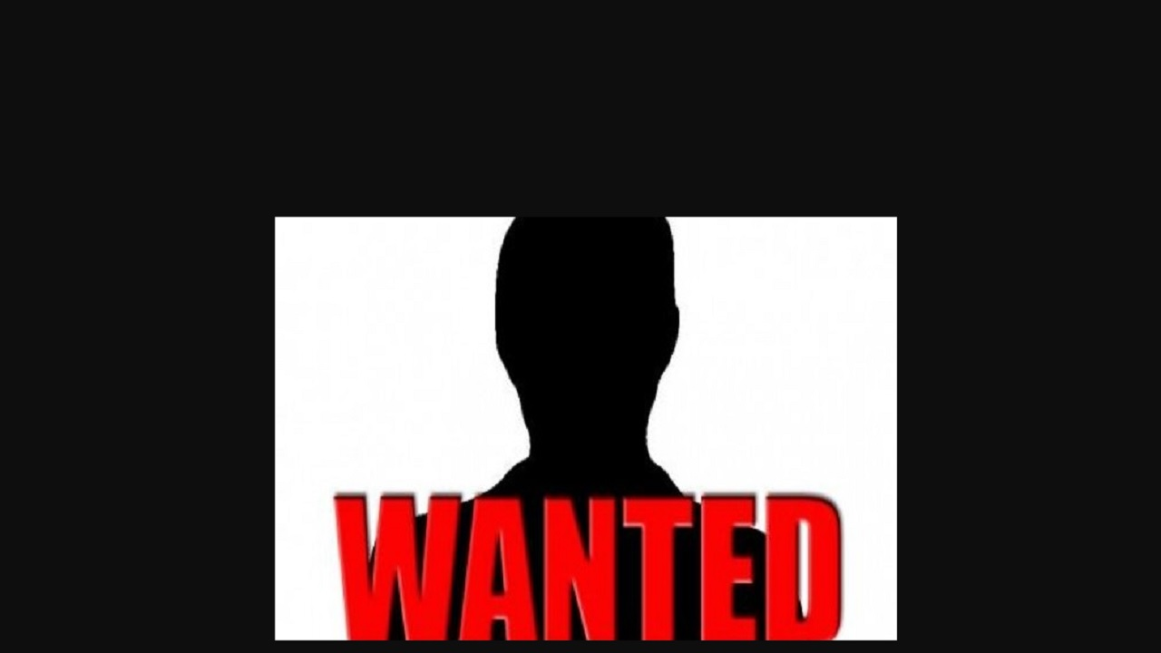 Wanted man held during a police operation.