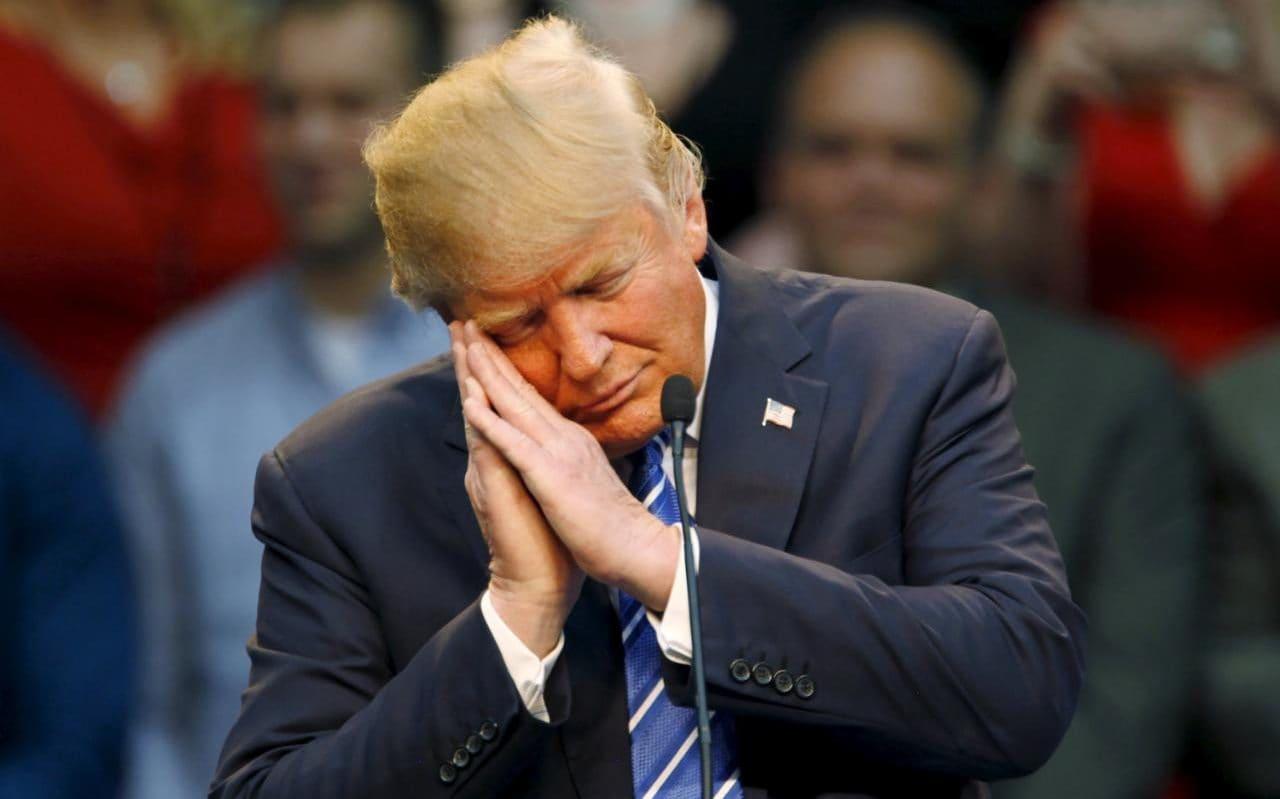 Le président américain Donald Trump. Photo:The Telegraph