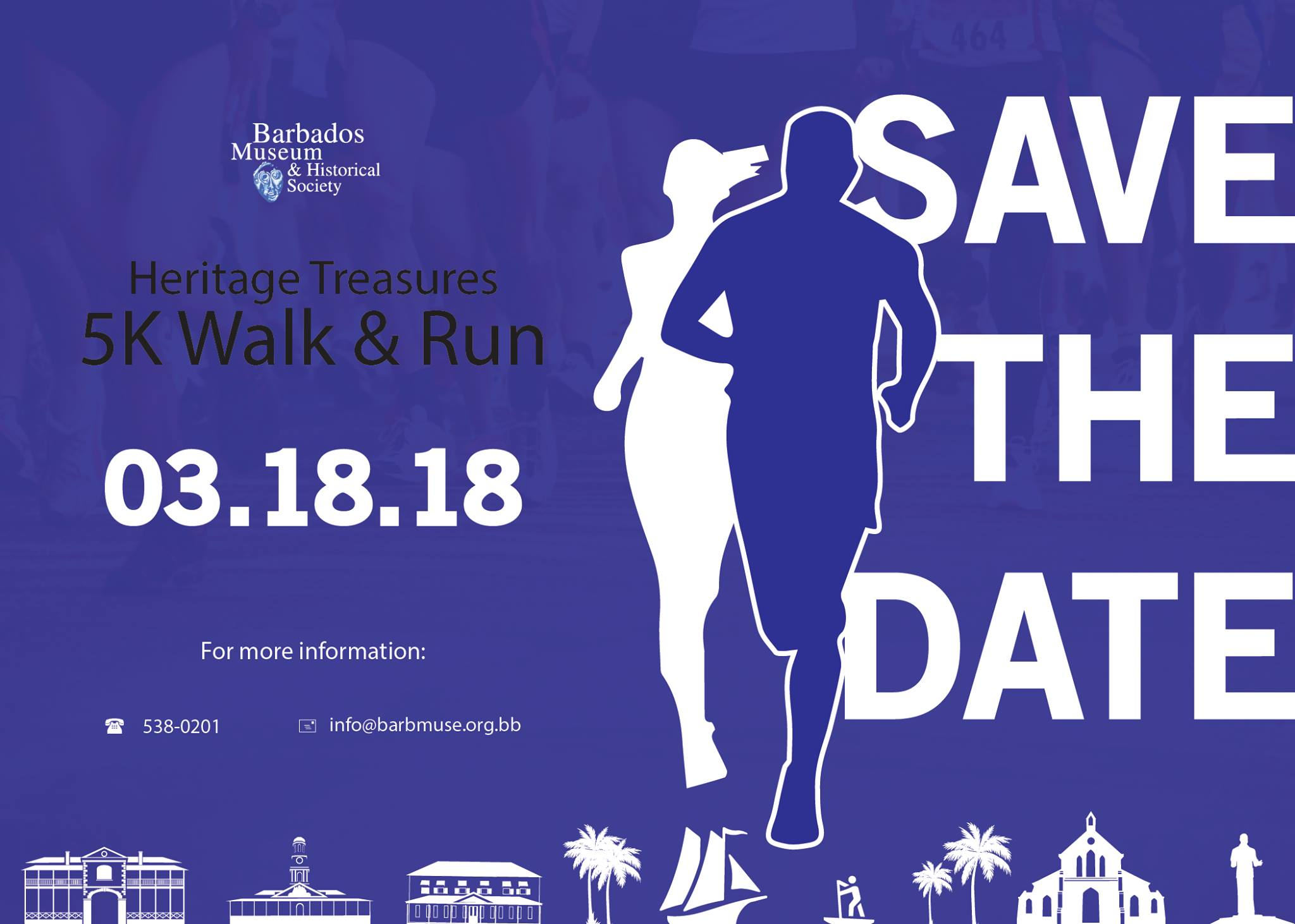 Barbados Museum and Historical Society fundraising Heritage 5K