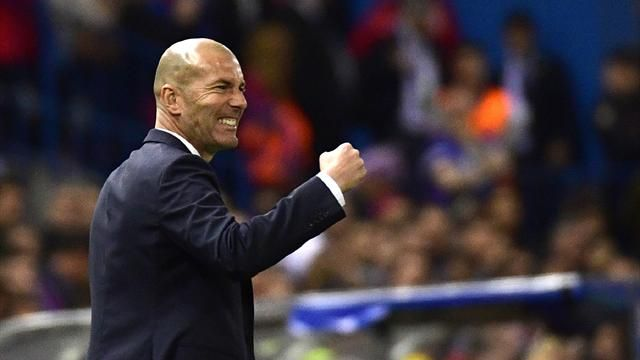 L'entraineur du Real Madrid Zinedine Zidane. /Photo: Eurosport