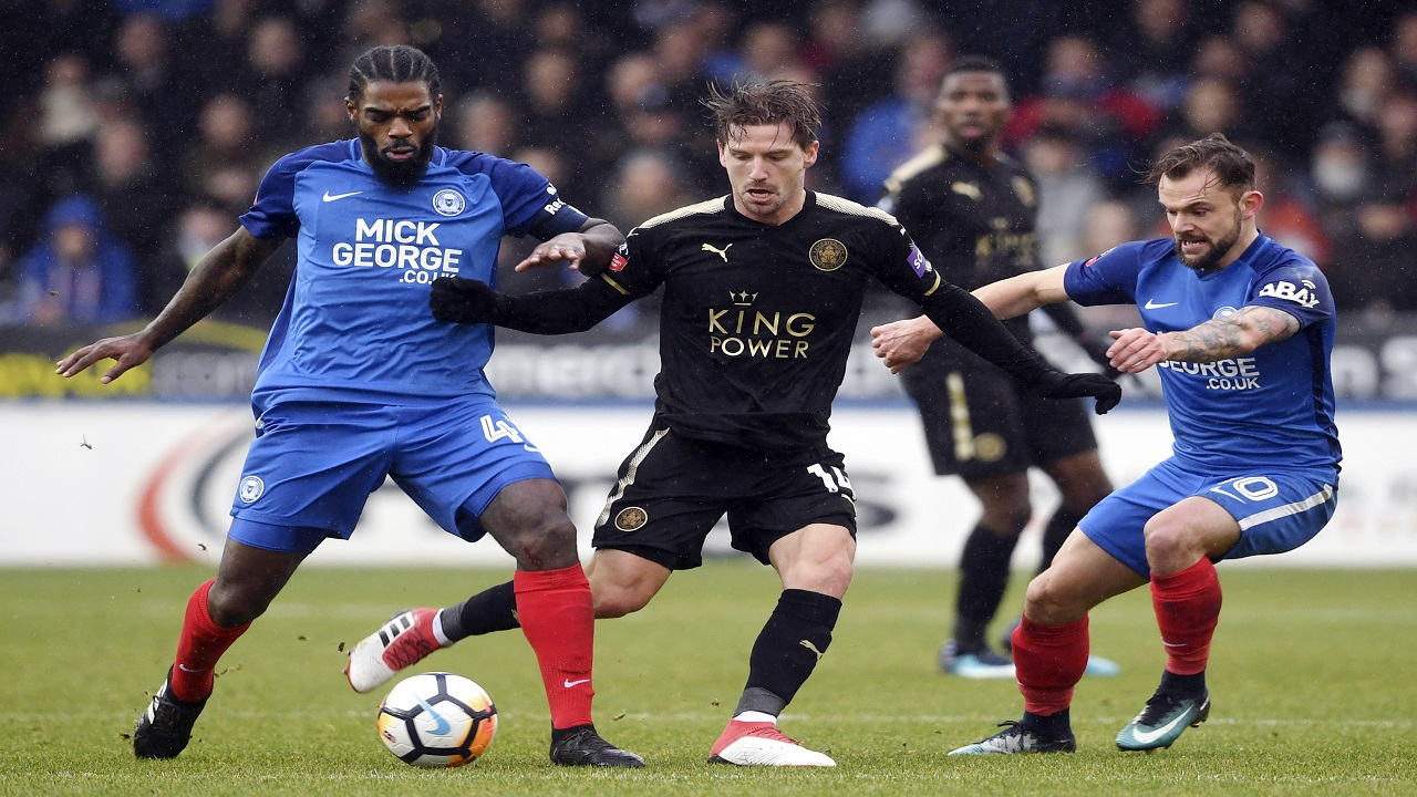 Leicester make light work of Peterborough
