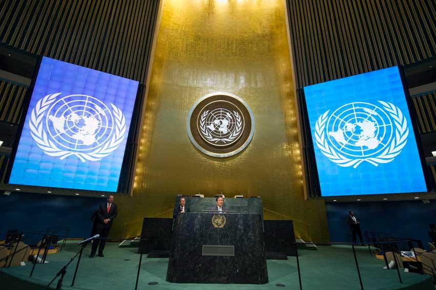 Vue de l'assemblée générale de l'ONU. Photo: un.org