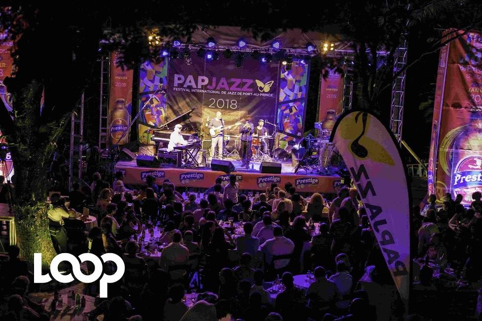 Erik Truffaz Quartet sur les planchers du PaP Jazz, samedi 20 janvier, à l'occasion de l'ouverture du festival. Photo : LoopHaiti