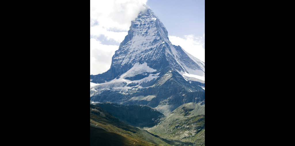 This file photo shows the famous Matterhorn mountain near Zermatt, Switzerland. (Jean-Christophe Bott/Keystone via AP, File)