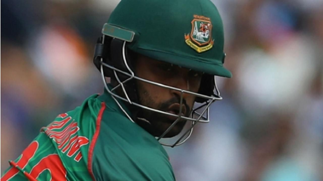 Bangladesh's Tamim Iqbal.