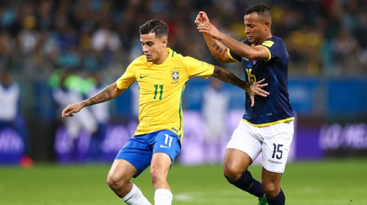 Brazil playmaker Philippe Coutinho.