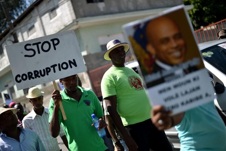 Pourquoi autant de corruption en Haiti ? PHOTO HECTOR RETAMAL, ARCHIVES AGENCE FRANCE-PRESSE
