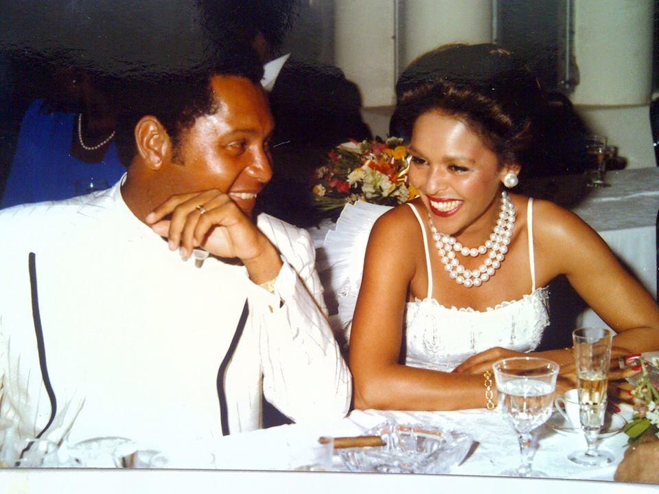 Michele Bennett Duvalier, ex-femme de Jean-Claude Duvalier./ Photo: Page Facebook de Michele Bennett Duvalier.