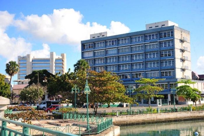 The Treasury Building. (Photo: Barbados Government Information Service)