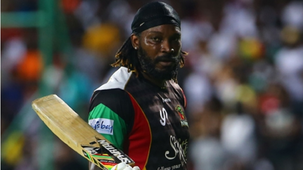Jamaica and West Indies explosive batsman Chris Gayle.