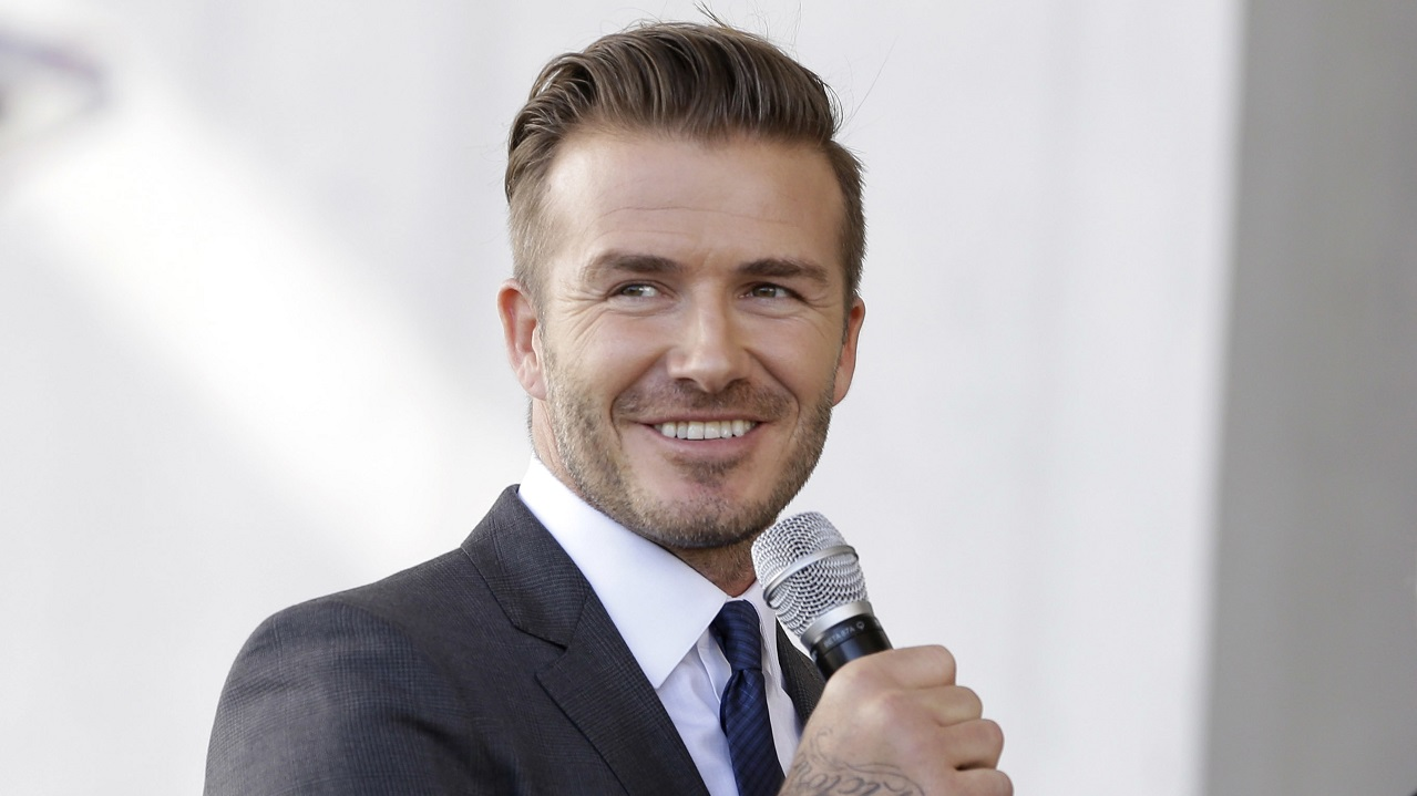 (Image: AP: File image of David Beckham)