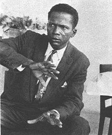 Pierre Eustache Daniel Fignolé, président d'Haïti du 25 mai au 14 juin 1957.