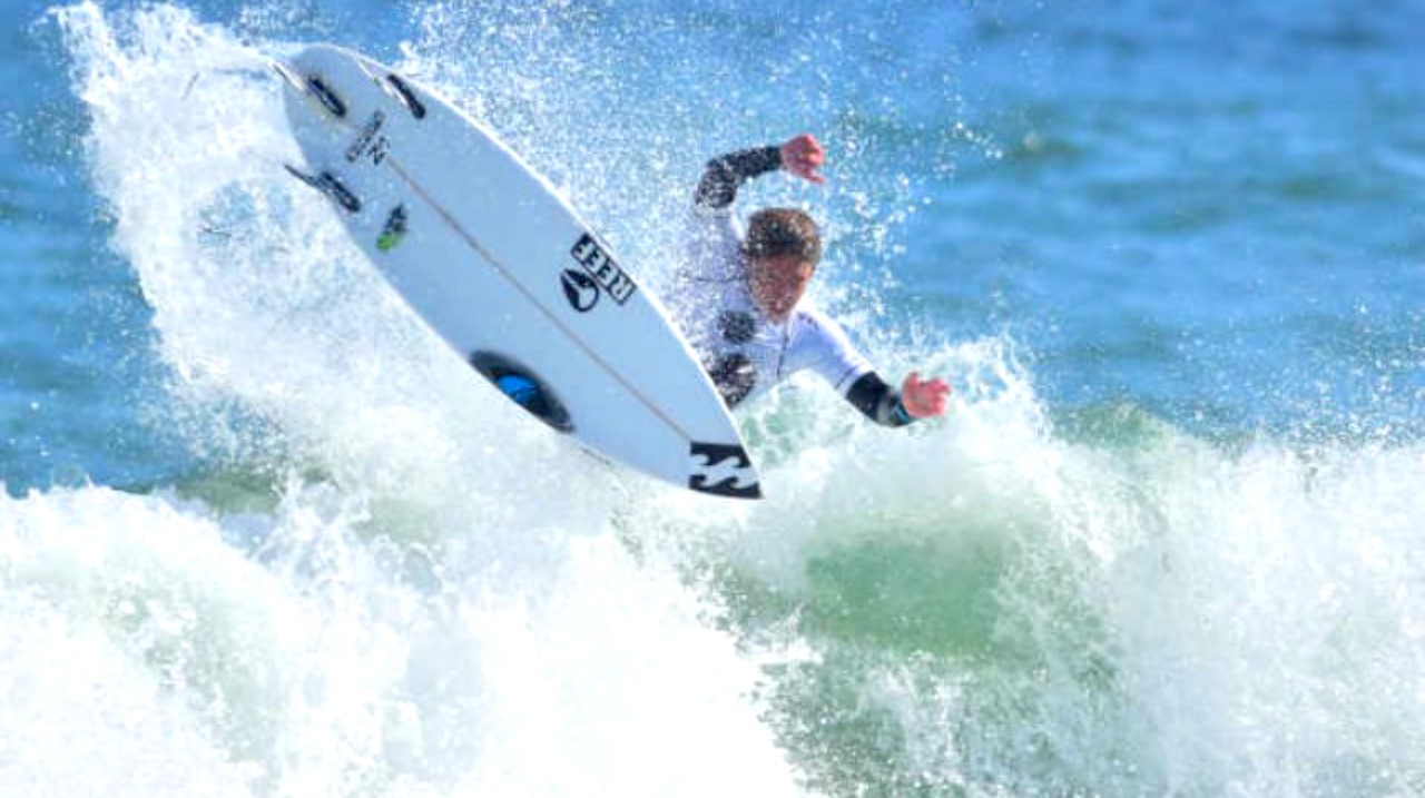 e668632255 Burke takes the podium at the World Surf League Florida PRO QS 1500 ...