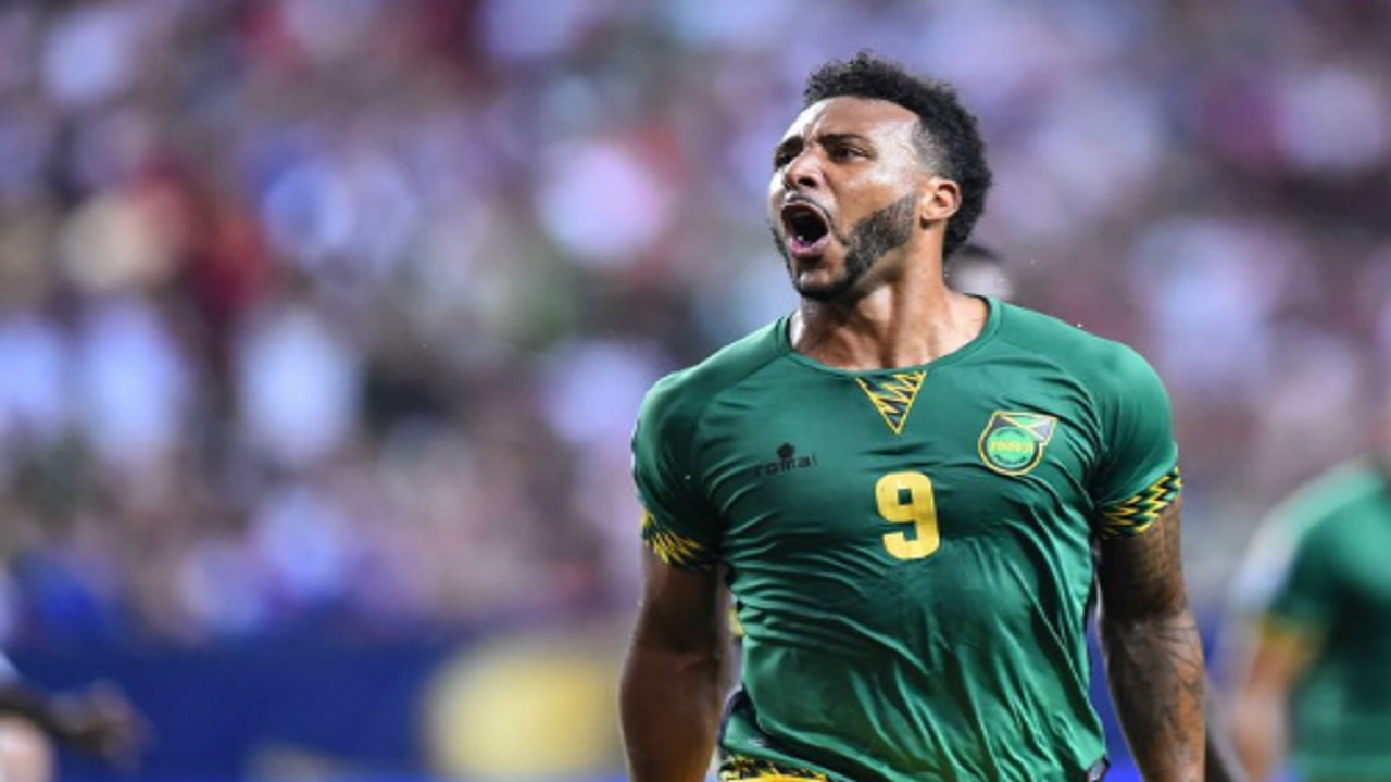 Jamaica international footballer Giles Barnes.