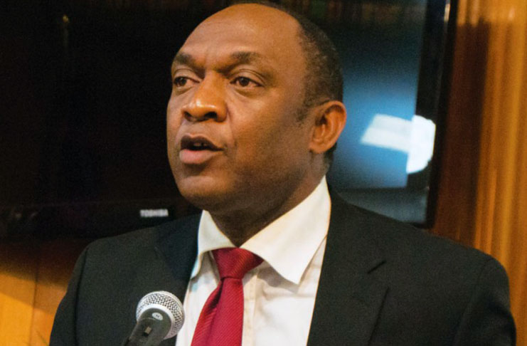 Le président du sénat haitien, Youri Latortue./Photo: Anwe.news