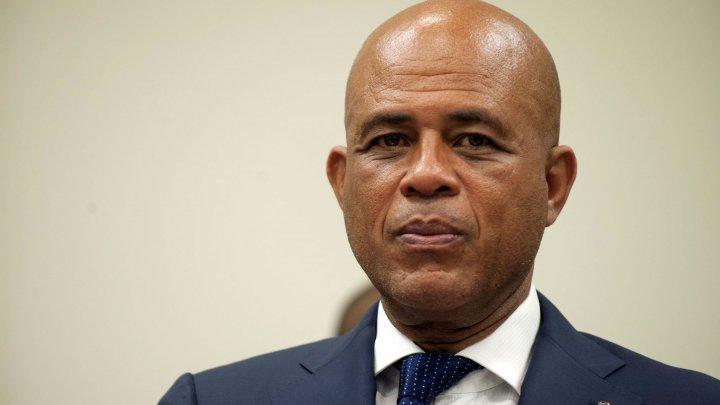 Michel Joseph Martelly, 56e président de la république d'Haïti. Photo: Hector Retamal/ AFP
