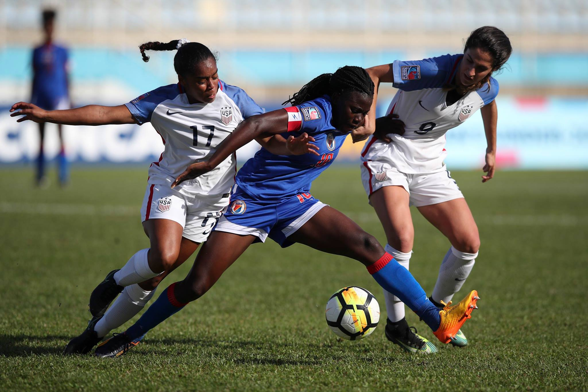 Haïti vs Etats-Unis. Photo: Concacaf