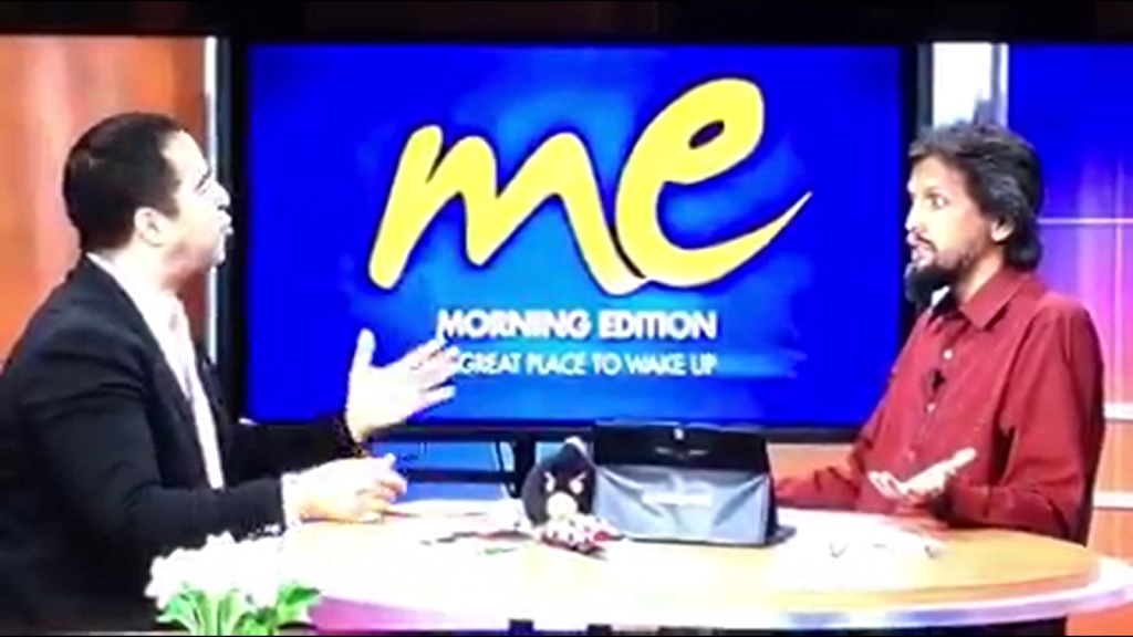 Head of the Progressive Empowerment Party, Phillip Edward Alexander, spoke on TV6's Morning Edition, asking if there was anyone who did not think Prime Minister Dr Keith Rowley is a jacka**.