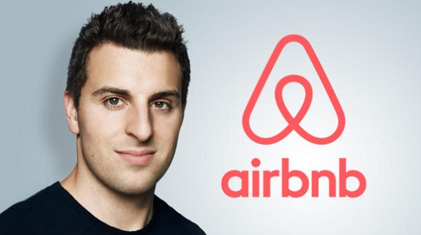 Briand Chesky, PDG et co-fondateur de Airbnb. Photo: Lesplusriches.org