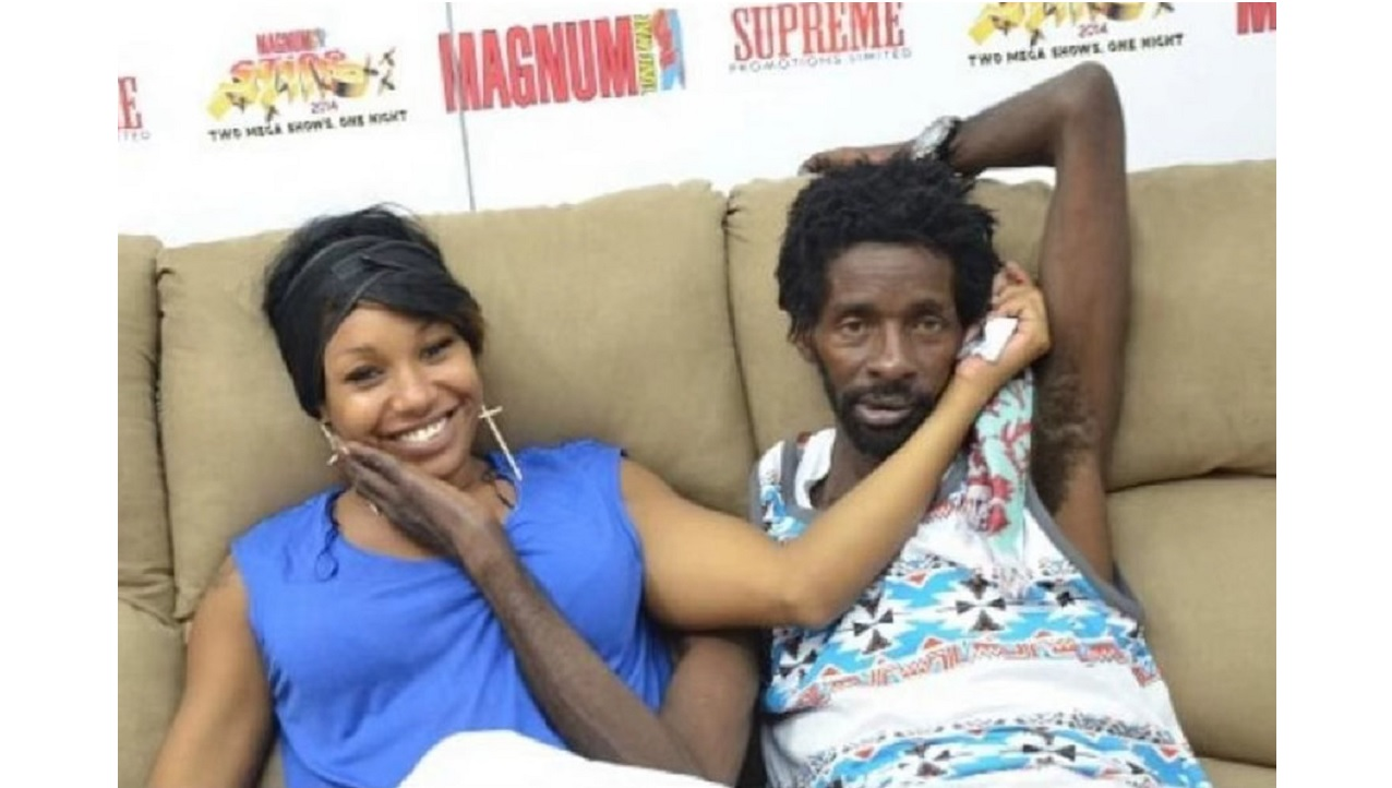 Shauna Chyn and Gully Bop in 'happier' times.