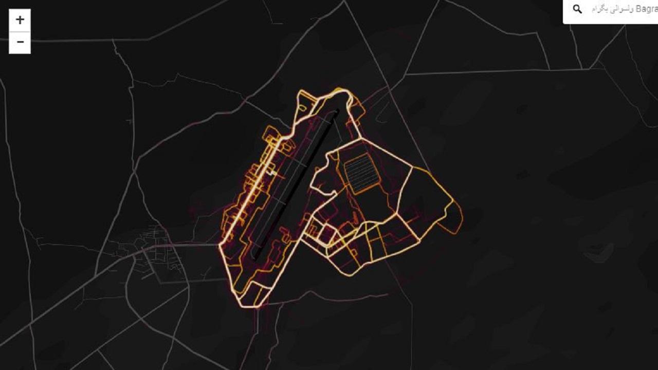 Strava Global Heat Map Fitness tracking map 'exposes US bases' | Loop News Strava Global Heat Map