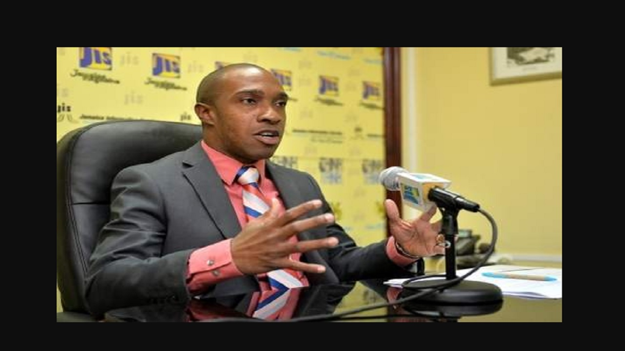 TPDCo's Executive Director Dr Andrew Spencer. Photo credit: Jamaica Information Service.