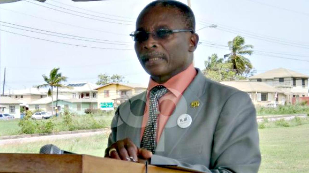 Minister of Housing, Denis Kellman.