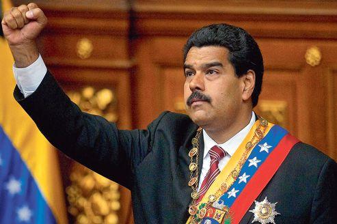 FILE - Venezuelan President Nicholas Maduro.