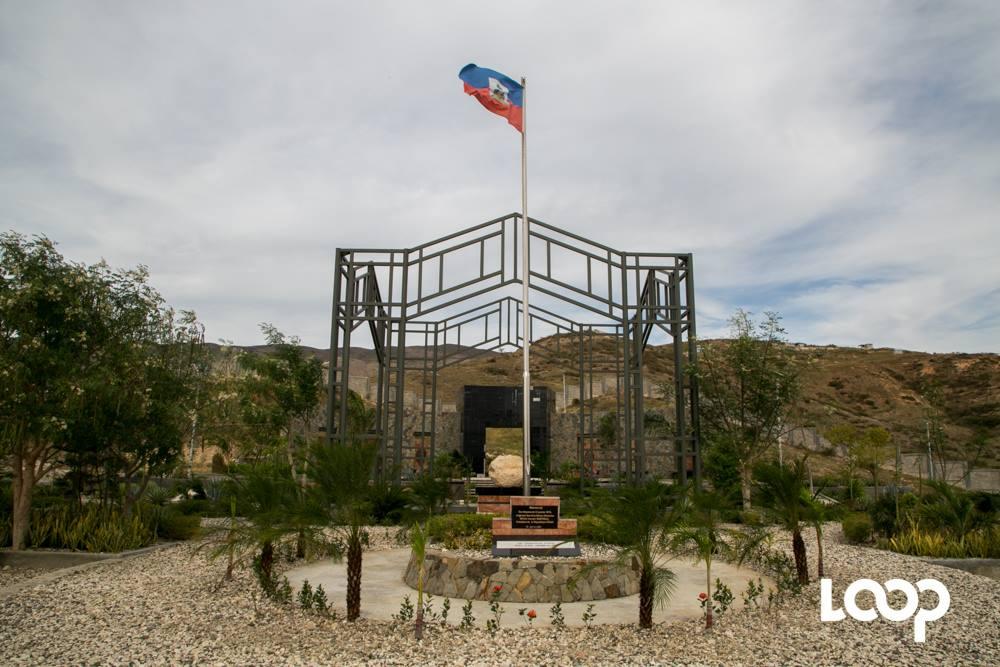 Le mémorial de Saint-Christophe érigé en mémoire des victimes du 12 janvier 2010. Photo : Loop Haiti/Estaïlove St-Val