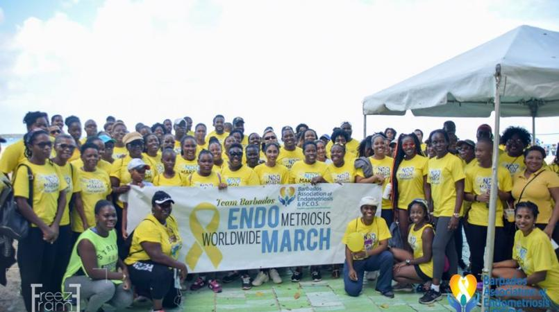 The Barbados Association of Endometriosis and PCOS (BAEP) held its first march in 2017.
