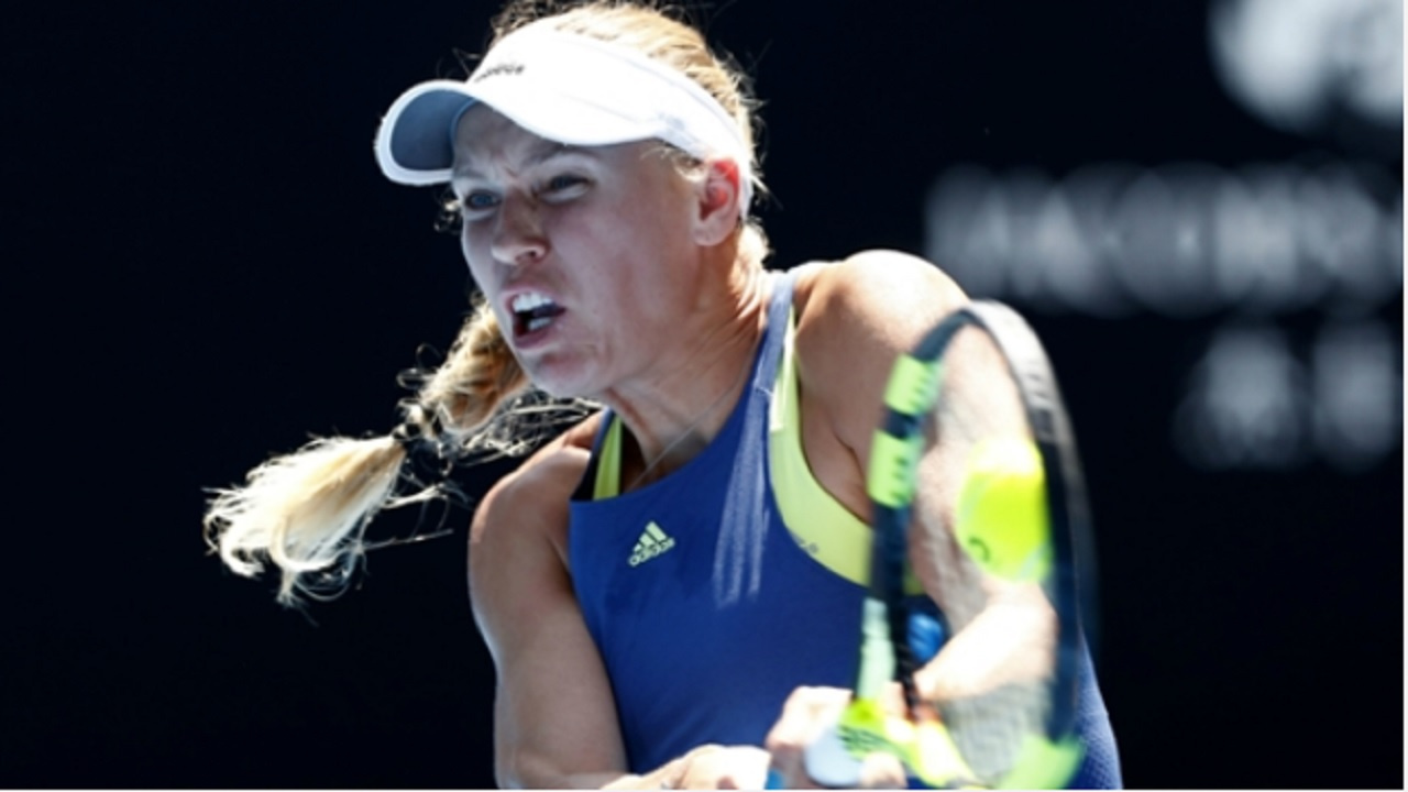 Danish second seed Caroline Wozniacki.